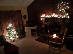 Christmas living rm