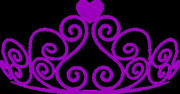 tiara - purple