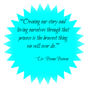 Brene Brown quote - brave